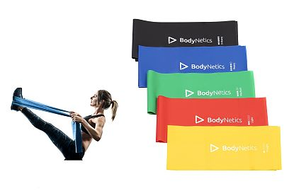 Flat Bands Set 2M x5 BodyNetics