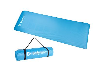 Mata Fitness NBR BodyNetics Niebieska
