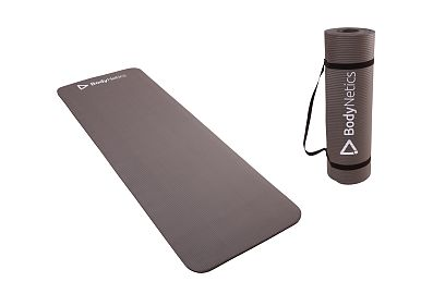 NBR Fitness Mat BodyNetics 1,5cm Grey