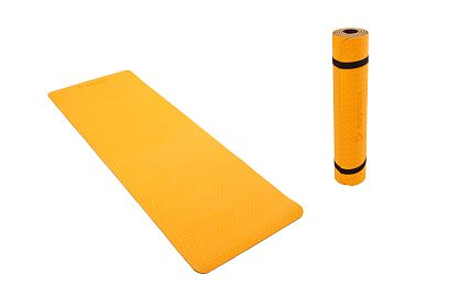 TPE Fitness Mat BodyNetics Orange