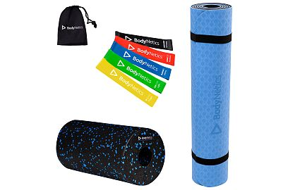 BodyNetics Set Fitness Mat Roller Mini Band