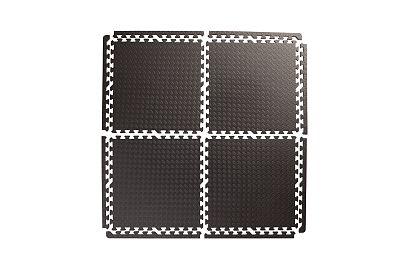 Mata Puzzle Do Ćwiczeń Pod Sprzęt Gruba 12mm 4szt Komplet Obrzeży